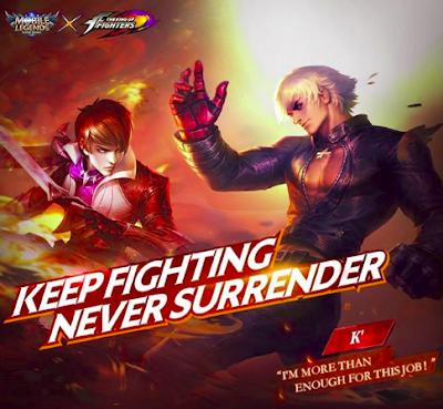 Skin KOF Mobile Legends Terbaru