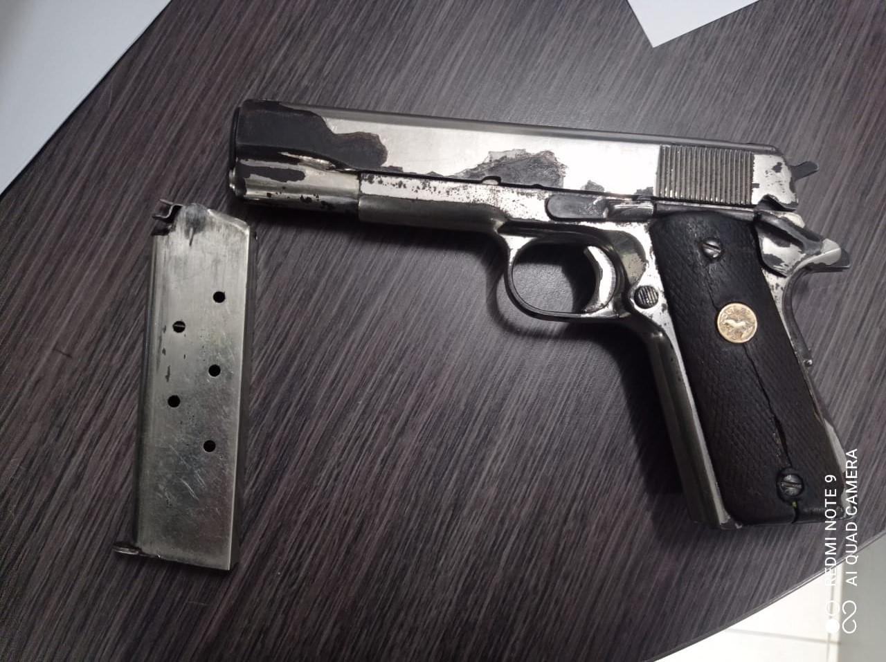 https://www.notasrosas.com/ En Maicao detienen a un particular, por Porte Ilegal de Arma de Fuego