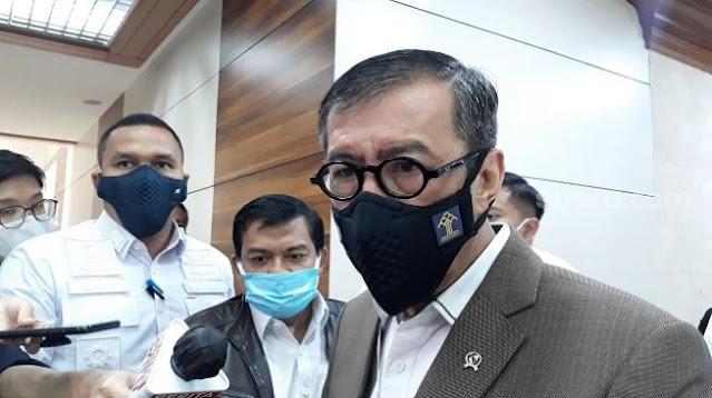 Yasonna Curhat Dongkol ke AHY Dituduh Berkomplot dengan Moeldoko
