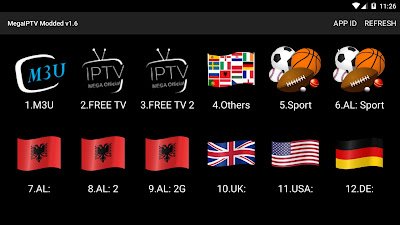 تطبيق MegaIPTV Official