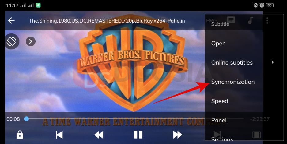 cara mengatasi subtitle tidak pas di android