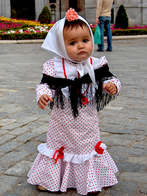 real Virgen trajes cerca de Madrid