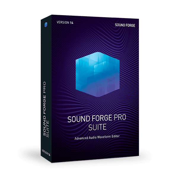 MAGIX SOUND FORGE Pro Suite 14.0.0.65 poster box cover