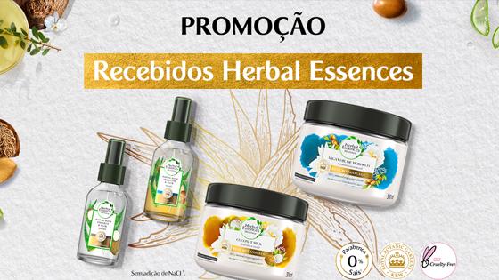 Promoção Recebidos Herbal Essences