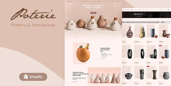 Best Handmade Ceramic Shopify Theme