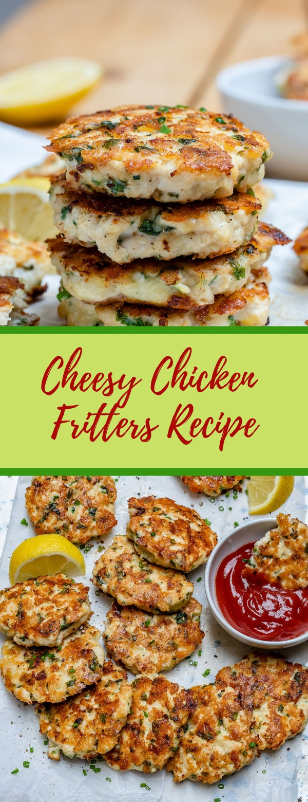 Cheesy Chicken Fritters Recipe – Easy Keto Recipe