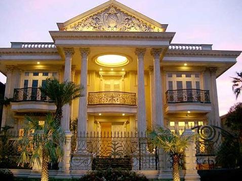 foto rumah mewah 1 dan 2 lantai di indonesia 2017 - foto