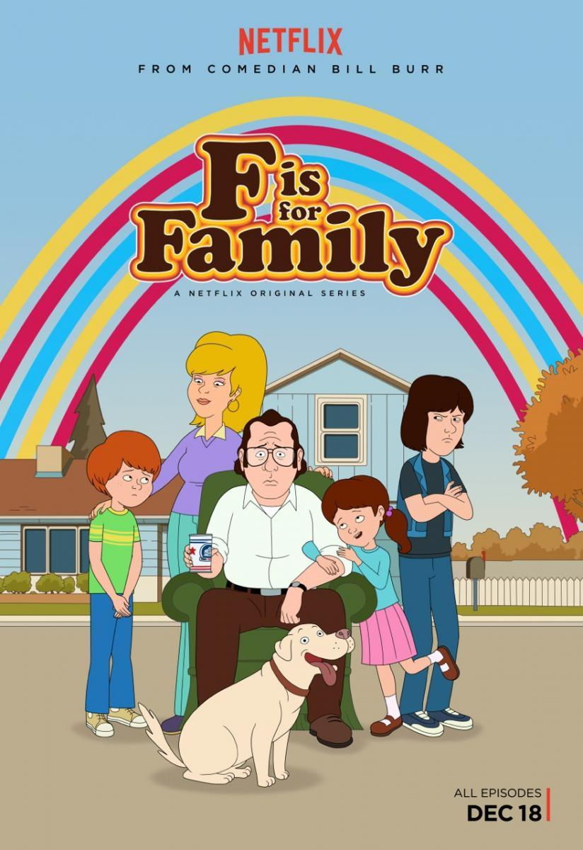 F is for Family Temporada 1 2 y 3 Latino