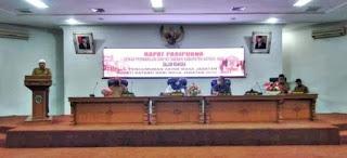DPRD Kabupaten Batanghari Gelar Rapat Paripurna Terkait Akhir Jabatan Bupati