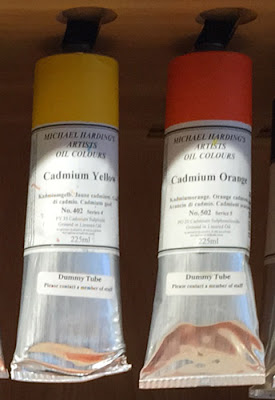 Artists Oil Colours Cadmium Yellow Cadmium Orange