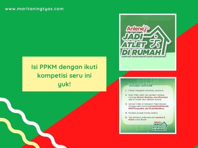 Kompetisi Jadi Atlet di Rumah by Anlene Indonesia