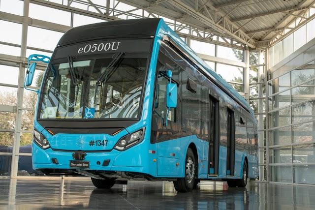 Mercedes Benz  Buses se destaca en Lat.Bus & Transpúblico 2021 con su eO500U eléctrico