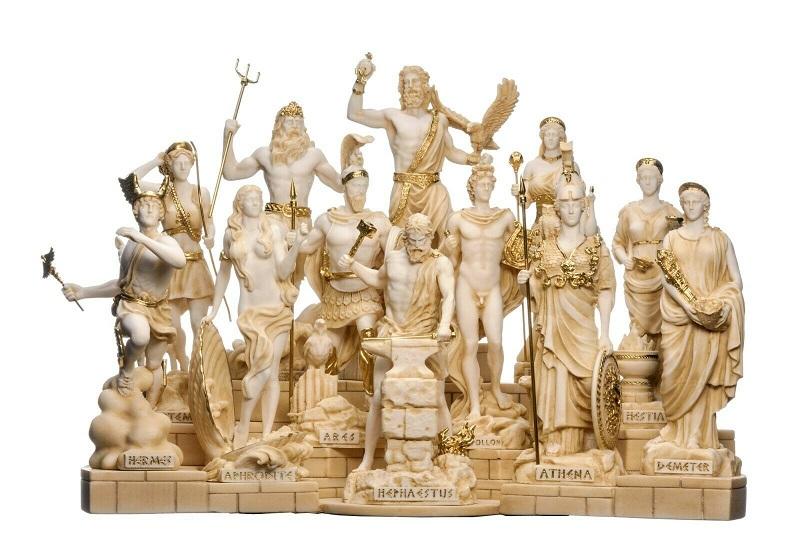 Os Doze Deuses Gregos Olímpicos e Seus Símbolos