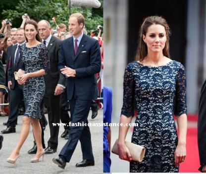 0ad56ddf9f Fashion Assistance  La Duquesa de Cambridge deslumbra a su ...