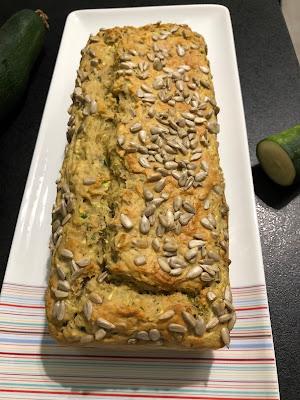 Breadcake aux courgettes et graines de tournesol (sans sucres ajoutés)