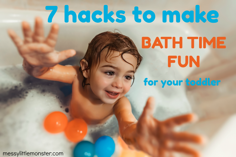 Make Bath Time Fun for Toddlers