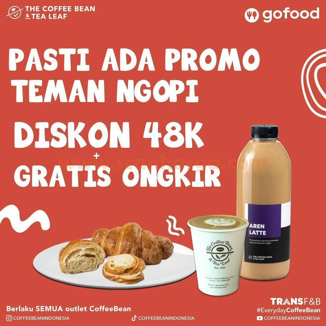 THE COFFEE BEAN Promo DISKON 48K + Gratis Ongkir khusus pemesanan via GOFOOD