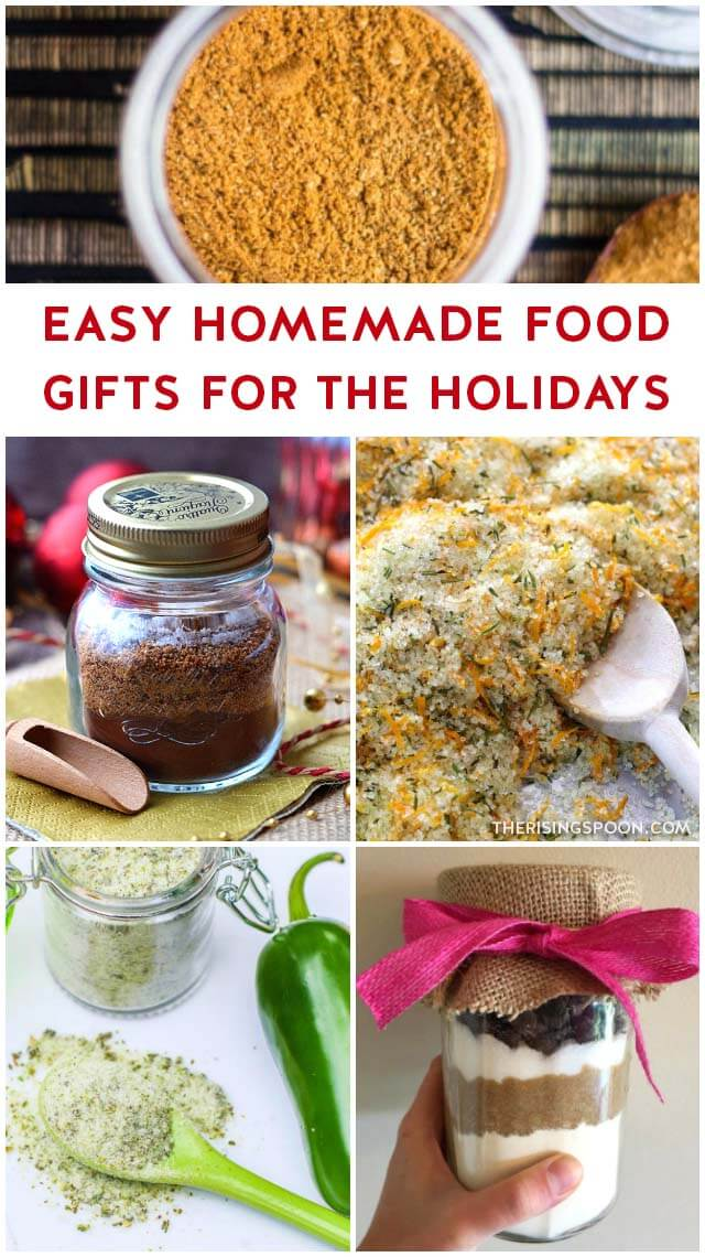 70+ Homemade Food Gifts Ideas (Easy & Simple)