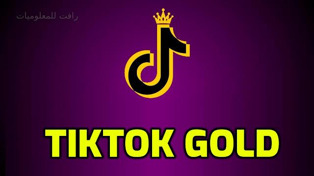 تنزيل تطبيق التيك توك TikTok Gold النسخة الذهبية - اخر اصدار