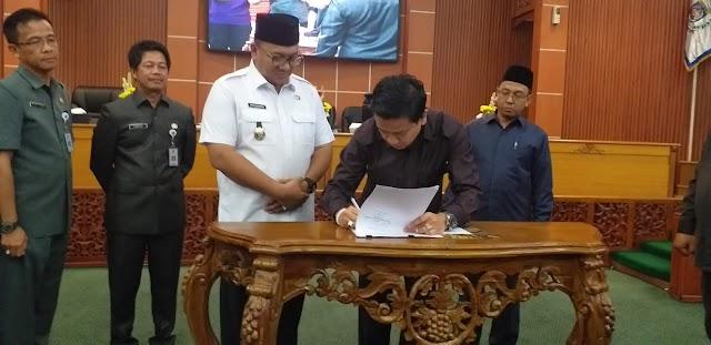 DPRD Setujui 10 Program Pembentukan Peraturan Daerah