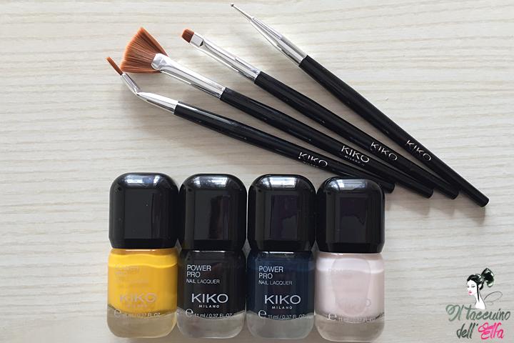 Kiko Smalti Power Pro e Nail Brush Kit