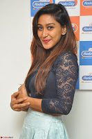 Shravya in skirt and tight top at Vana Villu Movie First Song launch at radio city 91.1 FM ~  Exclusive 174.JPG