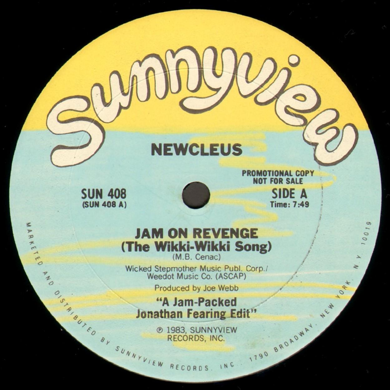 Newcleus Jam On Revenge The Wikki Wikki Song