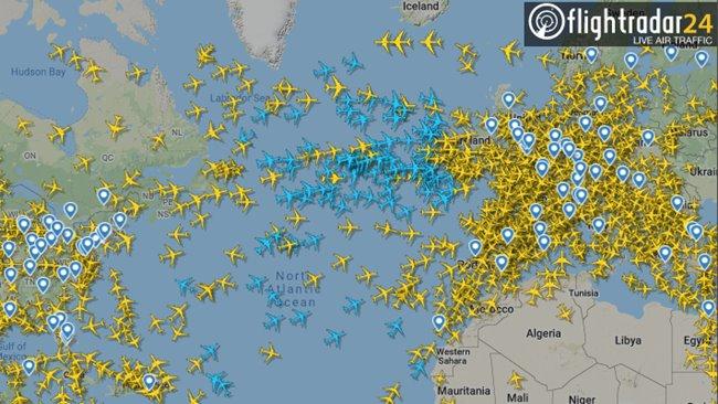 Zakaz lotów z Europy do USA