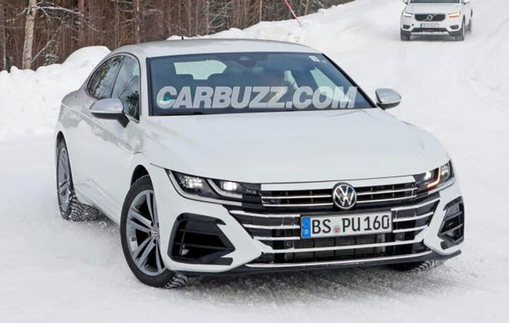 Volkswagen lần đầu tiên 'nhá hàng' Arteon 2021