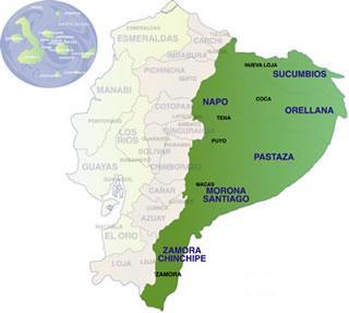 La Amazonia Ecuatoriana