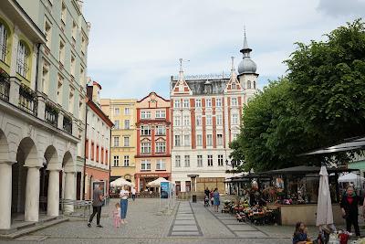 Kamienice wokół rynku