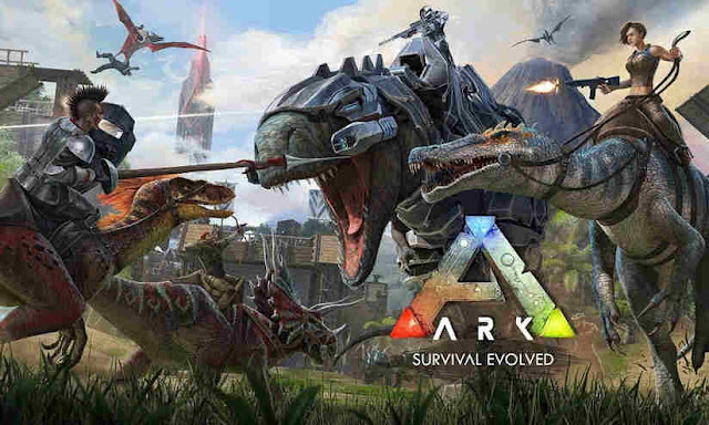 ARK Survival Evolved locandina