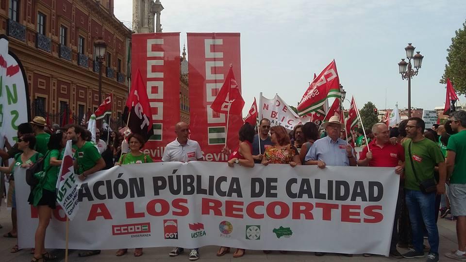 Gel n noticias se celebr este s bado una multitudinaria for Consejeria de educacion junta de andalucia