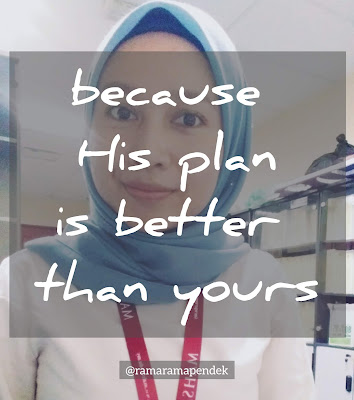 Allah plan better than yours