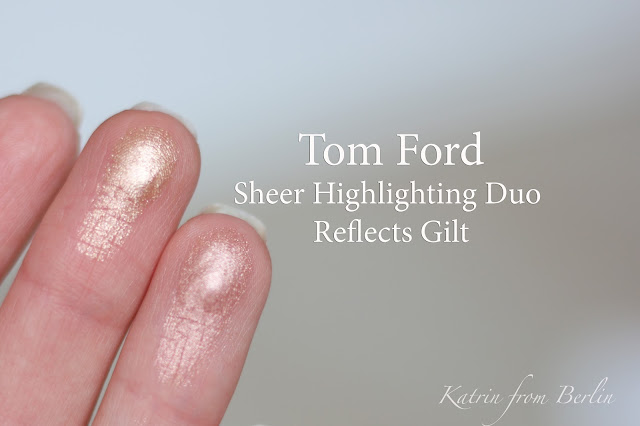 Tom Ford Reflects Gilt swatches