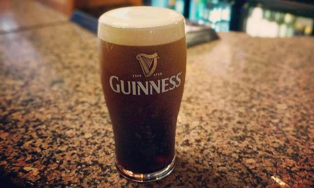 Dublin in a day: pint of Guinness