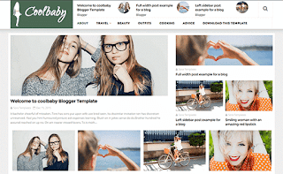 CoolBaby Elegant Blogger Template