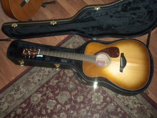 Ngd Yamaha Fg700s Sandburst. - Acoustic Guitar Forum