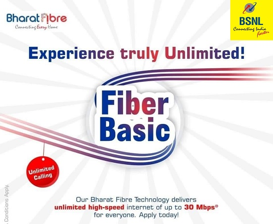BSNL extended Fiber Basic, Fiber Value, Fiber Premium & Fiber Ultra FTTH Broadband plans all over India with immediate effect for another 90 days