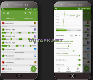 Advanced Download Manager v9.0 build 90021 [Pro] [Mod] Apk