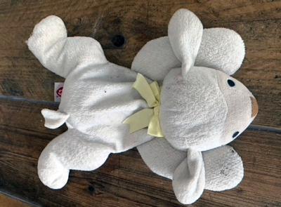 Lamby cuddly toy