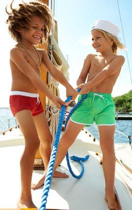 bañadores para niños Calzedonia