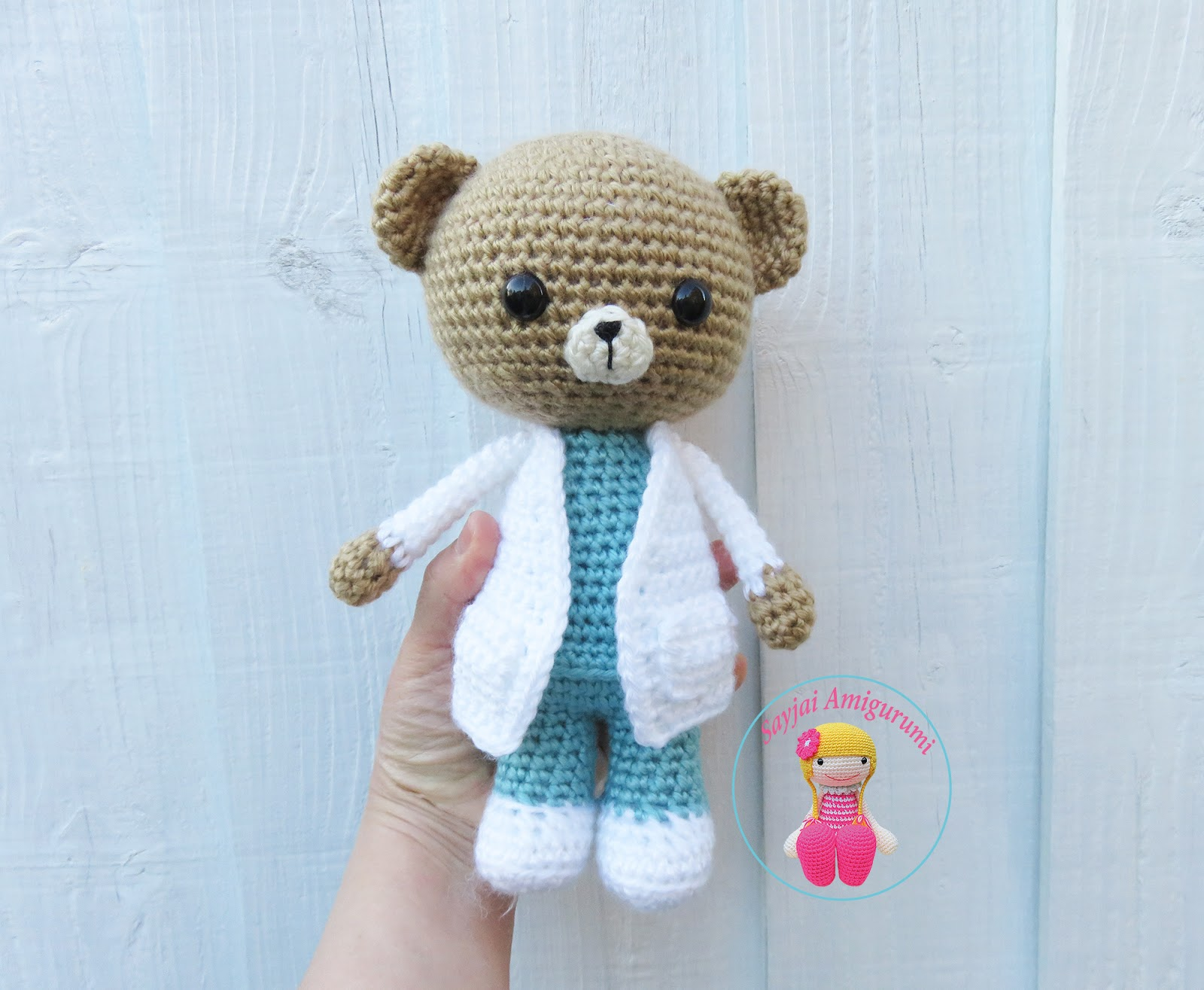 Little Valentine Bear – Free Amigurumi Pattern | 1315x1600