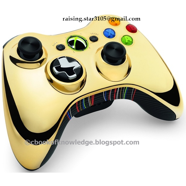 Xbox 360 Controller Designs Gold R2-d2 s iconic whistling soundand    Xbox 360 Controller Designs Gold