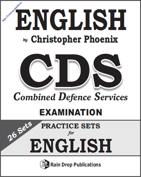 अंग्रेजी सीडीएस 26 प्रैक्टिस सेट : यूपीएससी परीक्षा हेतु पीडीऍफ़ बुक | English CDS 26 Practice Sets : For UPSC Exam PDF Book