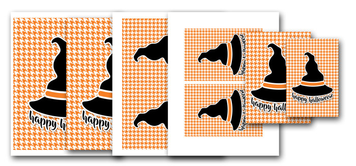 Witch Hat Printable Designs