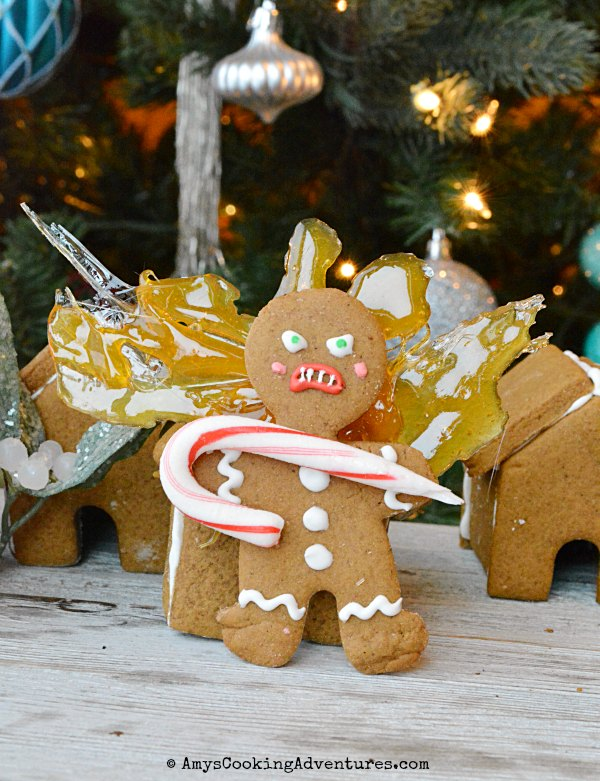 Krampus Gingerbread Men by Amy's Cooking Adventures