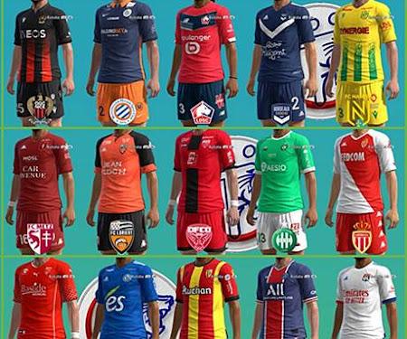 PES 2013 Kitpack League 1 Season 2020-2021