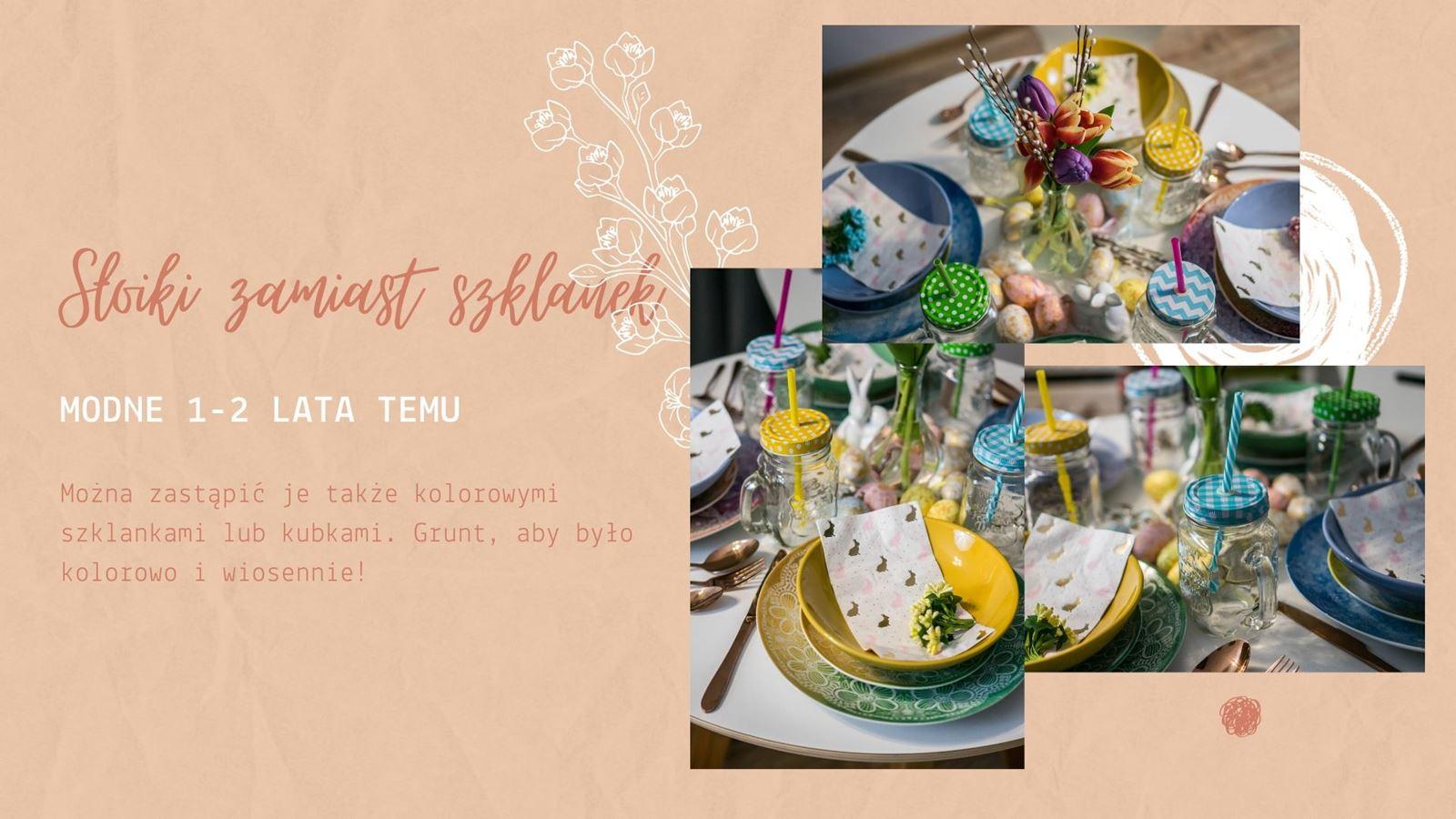 6 dekoracje wielkanocne diy jak udekorować stół wielkanocny bez wydawania pieniędzy kolorowe dodatki na wiosnę jak urządzić mieszkanie na wiosnę wiosenne dodatki do wnętrz tanie