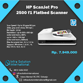 Produk HP ScanJet PT. Infra Solution International